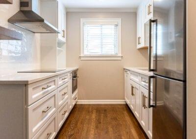 White Kitchen Modeling