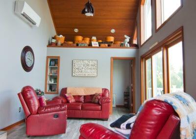 White Sofas Living Room