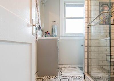 Golden Shade Bathroom Design Modeling